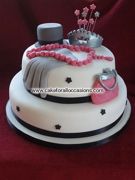 Cake L042 :: Women s Birthday Cakes :: Birthday Cakes ...
