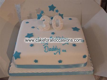 Cake M036 Mens Birthday Cakes Library