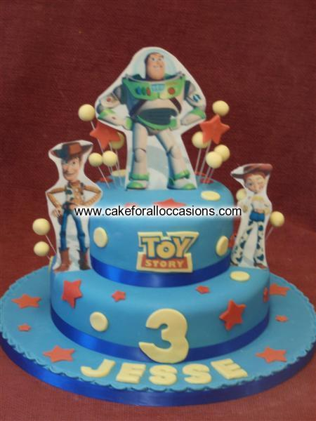 Toy Story Cakes For Boys : Cake b boy s birthday cakes