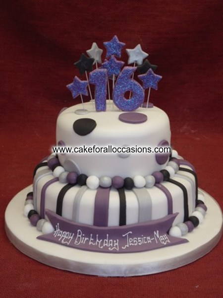Cake L028 Womens Birthday Cakes